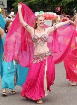 Belly Dancing Me