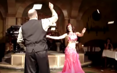 Tipping the Belly Dancer at a Restaurant