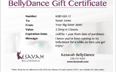 Looking For the Perfect Gift? Voila Dance Gift Certificates